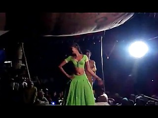 Dancing Exotic Indian Striptease