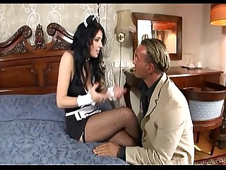 Fuck High Heels Lingerie MILF Nylon Stocking Uniform