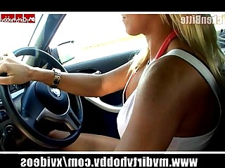 Amateur Car Cumshot Fingering Hot Outdoor