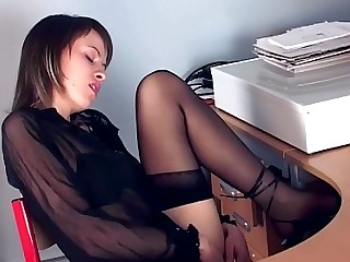 Brunette Fingering Foot Fetish Hidden Cam High Heels Lingerie Masturbation Nylon